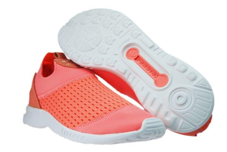 ad8c00fc8 S75740 adidas ZX Flux ADV Smooth Sun Glow Solar Orange S75740 adidas ...