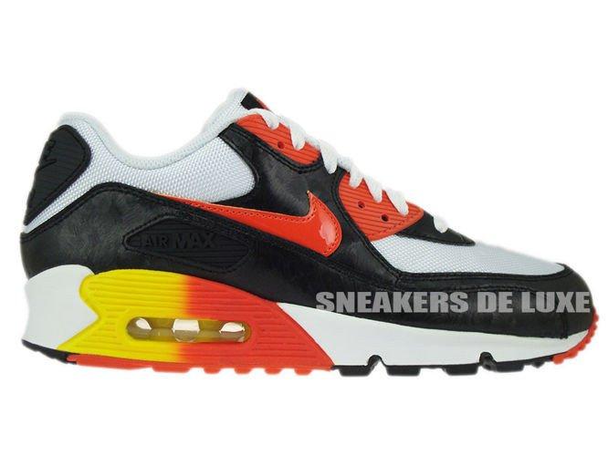 307793-180 Nike Air Max 90 White/Black