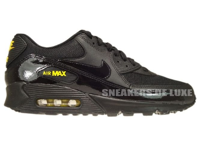 325018 056 Nike Air Max 90 BlackBlack Golden Sash 325018