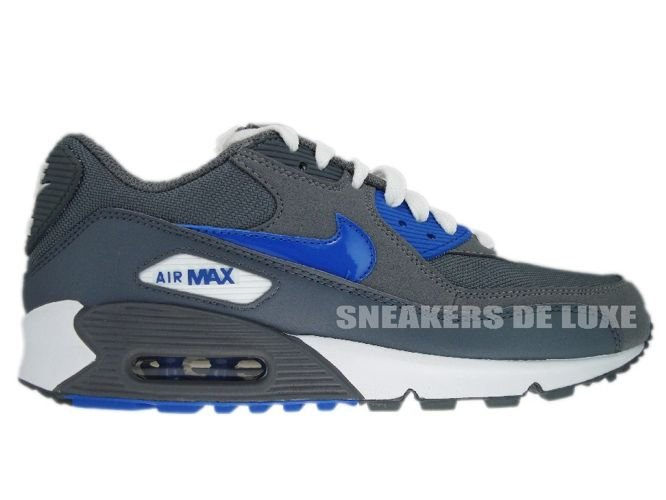 e378ba10423 325213-007 Nike Air Max 90 Cool Grey Varsity Royal 325213-007 Nike ...