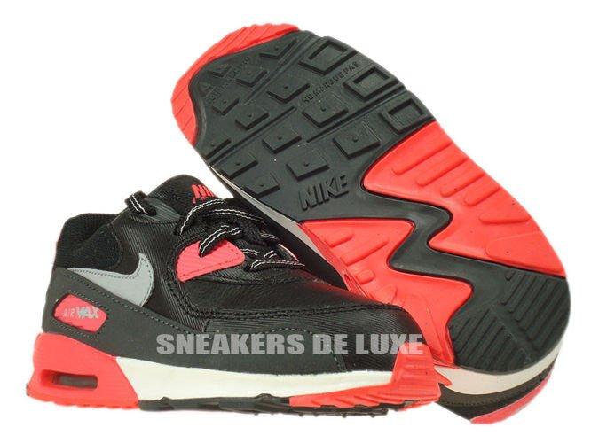 2c2f774c60 408110-080 Nike Air Max 90 TD Black/Wolf Grey-Atomic Red-Anthracite ...