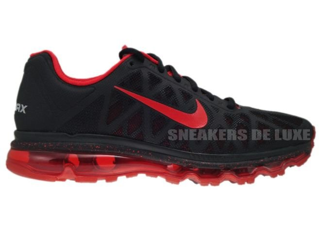 7bc23e7b06a 429889-060 Nike Air Max 2011+ Black Sport Red 429889-060 Nike   mens