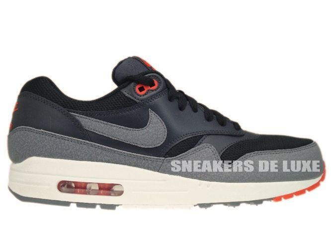 537383 008 Nike Air Max 1 Essential BlackCool Grey