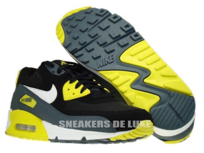 Progreso agenda Decrépito  537384-017 Nike Air Max 90 Essential Black/White-Sonic Yellow-Armory Slate  537384-017 Nike \ mens