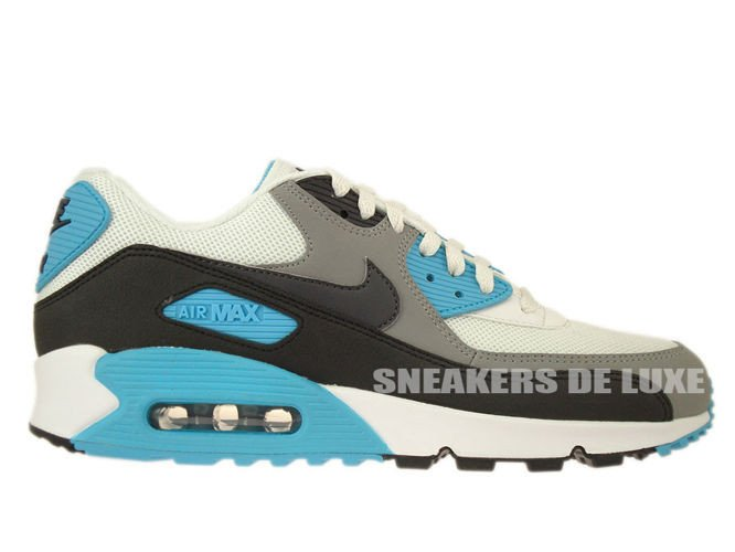 Nike Air Max 90 Essential Black Summit White Mens Sneakers