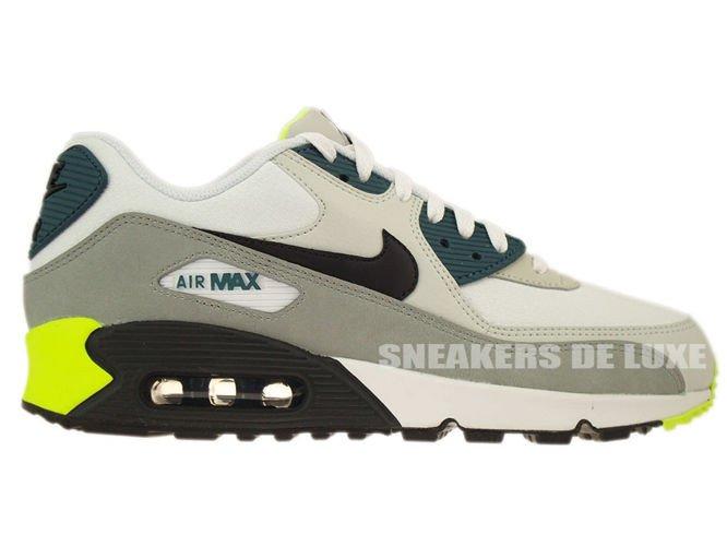 NIKE Air Max 90 Essential Mens Trainers BlackWhiteGrey