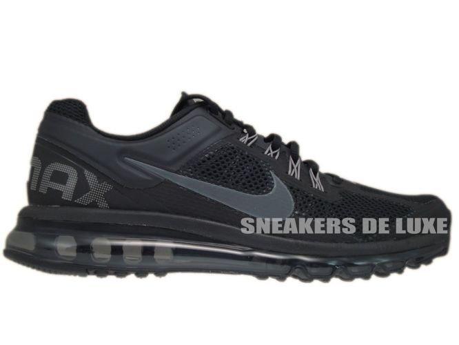reputable site fbdcd 4d5ed 554886-001 Nike Air Max+ 2013 Black Dark Grey ...