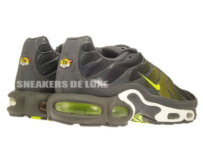 new products d3b90 cea53 647315-030 Nike Air Max Plus TN 1 Dark Grey/Venom Green ...