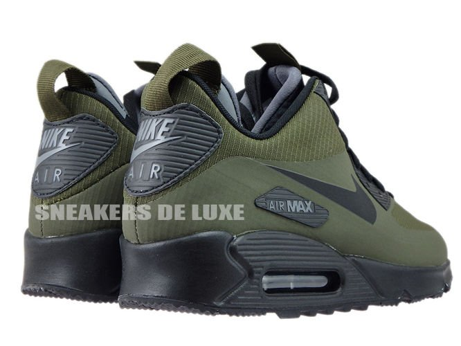 Nike Air Max 90 Mid WNTR – Dark Loden Black – Dark Grey
