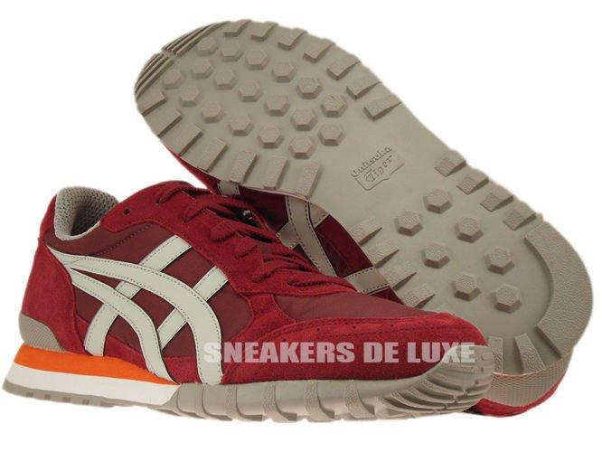 Onitsuka Tiger Colorado Eighty Five shoes maroon grey orange