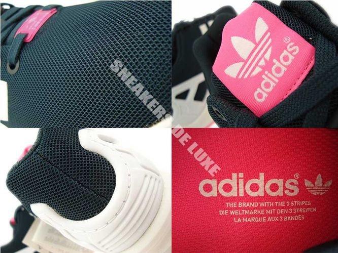 B34060 adidas ZX Flux Petrol Ink Ftwr White Solar Pink