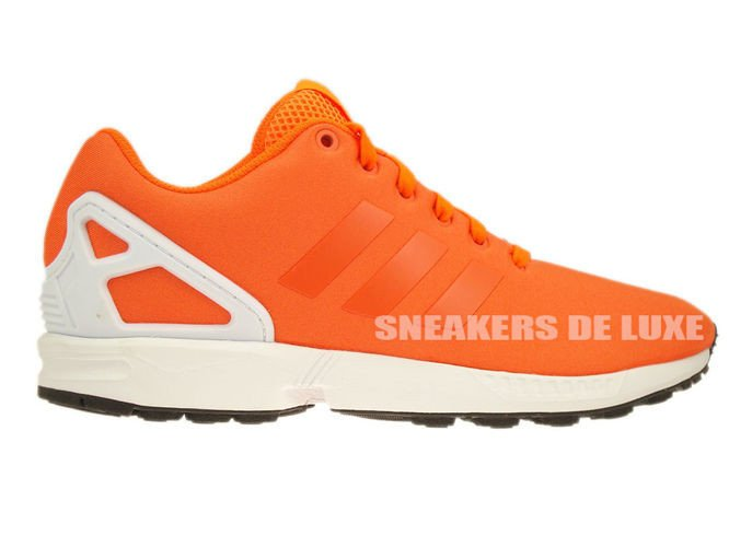 newest 04e88 06f31 B34509 adidas ZX Flux solar orange   solar orange   core black ...