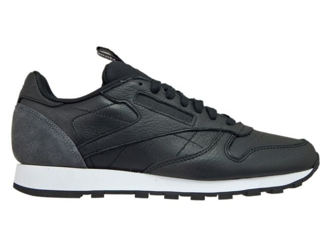 c216aad20ea BS6210 Reebok Classic Leather Iconing Taping Black Coal White BS6210 ...