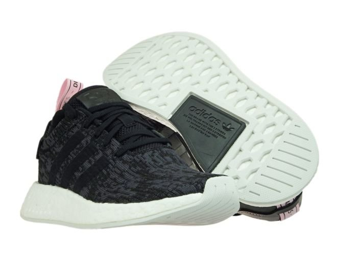 sports shoes 08311 855f6 BY9314 adidas NMD R2 W Core Black/Core Black/Wonder Pink ...