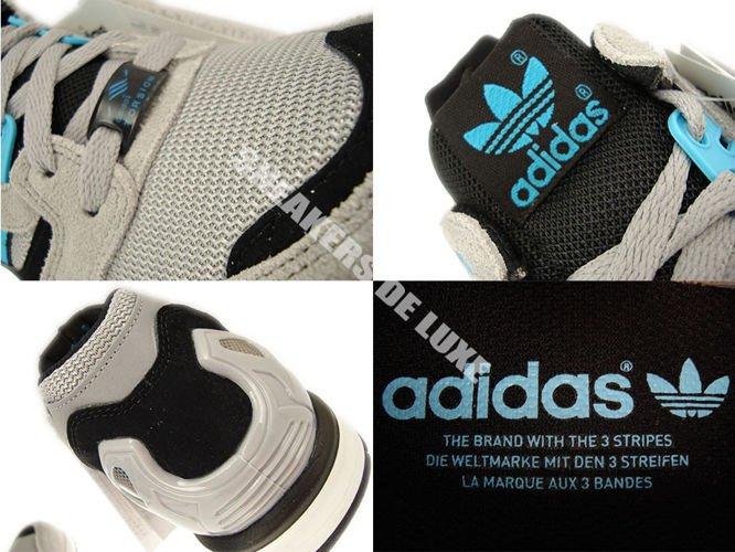 D65458 Adidas Originals ZX 8000 AluminiumSamba BlueWhite