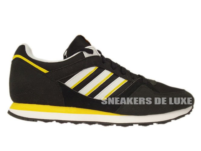 f9324bb22 D67735 adidas Originals ZX 100 Black   Clear Grey   Sunshine D67735 ...