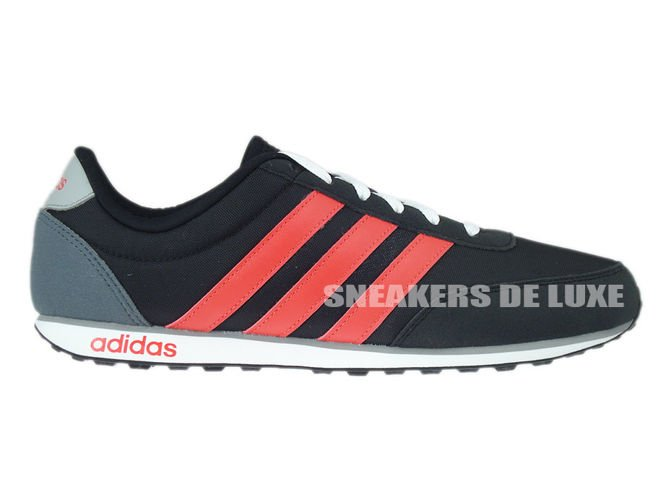 F99392 adidas neo V Racer core black / bright red / clear