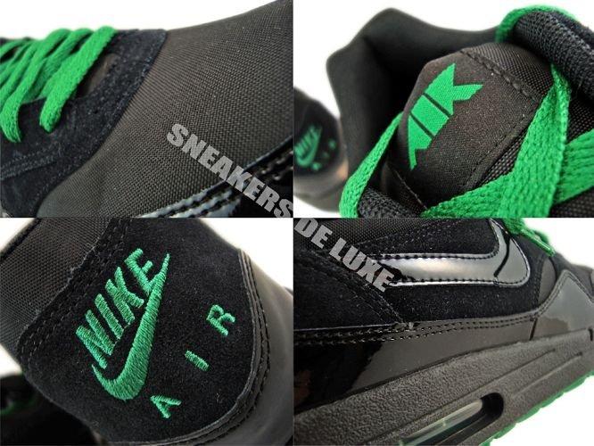 newest 36656 f0856 ... Nike Air Max 1 Air Attack Pack Black Pine Green 308866-006