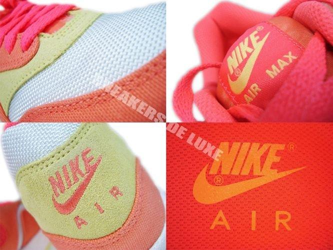 timeless design abba7 a0e6d ... Nike Air Max 1 Melon Crush Hot Punch-White-Yellow 319986-801