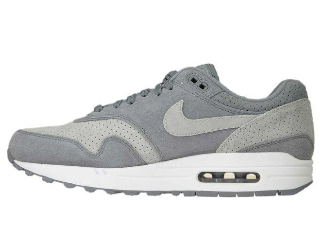 Nike Air Max 1 Premium Cool GreyWhite Wolf Grey 875844 005