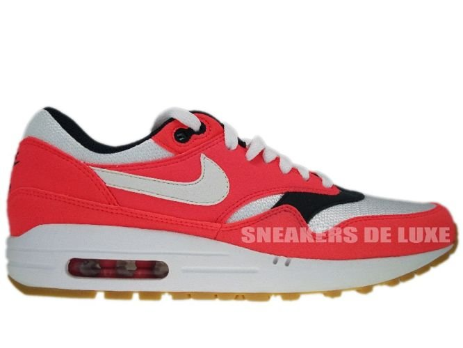 brand new a1b1e 7cf5b Nike Air Max 1 Solar Red/White-Seaweed-Gum-Light Brown 319986-600 ...