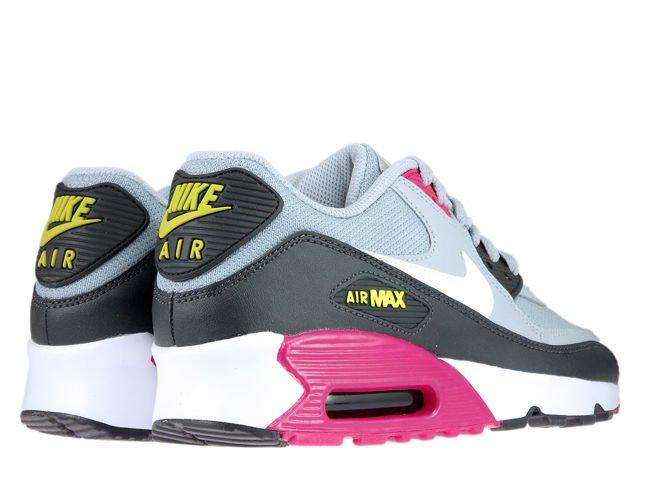 Nike Air Max 90 833418 027 Wolf GreyWhite Rush Pink Volt