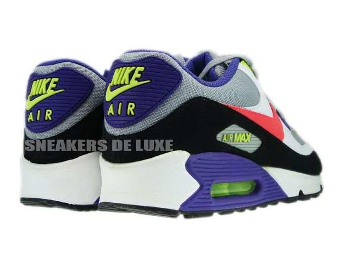 Nike Air Max 90 Mens Shoes Hot Black White Red Review