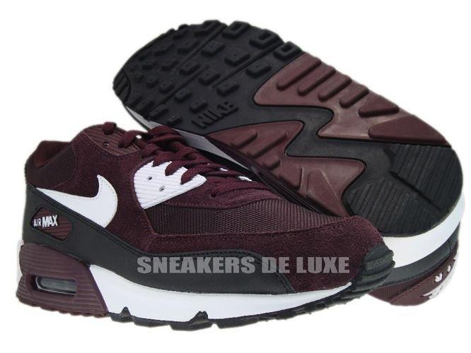 Nike Air Max 90 Deep BurgundyWhite Black 325018 603 325018