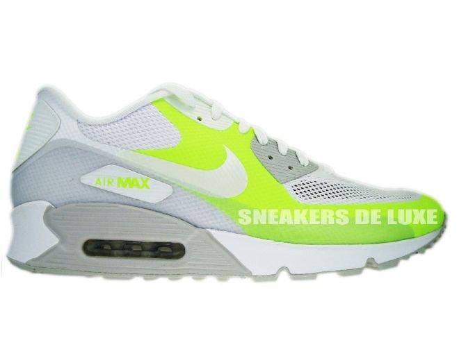 Nike Air Max 90 Premium Hyperfuse Neutral GreyWhite Volt