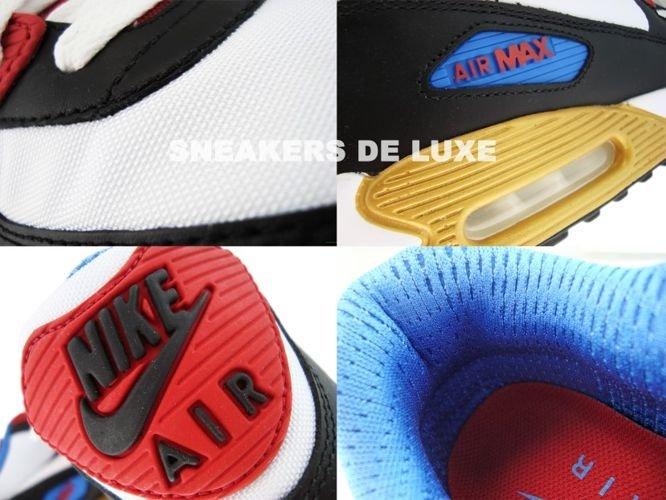 Nike Air Max 90 Premium LE BlackWhiteVarsity RedVarsity