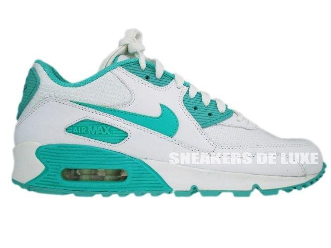 pretty nice 6b56c 69b94 Nike Air Max 90 WhiteCool Mint-White 309298-100 ...