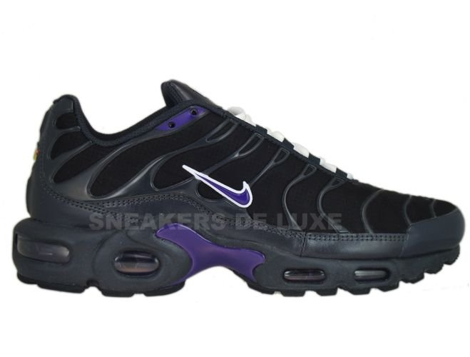 watch 64e52 24167 Nike Air Max Plus TN 1 Anthracite/Club Purple-Black-White 605112-016 ...