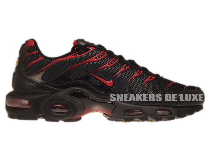 910f5fb777b Nike Air Max Plus TN 1 Black Diablo Red-Anthracite 604133-078 Nike ...