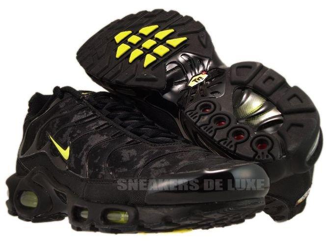 fe2e9481ab Nike Air Max Plus TN 1 Black/High Voltage-Dark Grey 604133-036 Nike ...