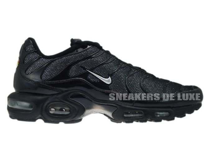 Nike Air Max Plus TN 1 BlackMetallic Silver Black 605112