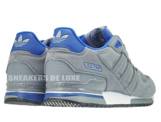 the best attitude 73af4 62a40 ... Q21311 Adidas ZX 750 Originals Tech GreyTech GreyColor Royal ...