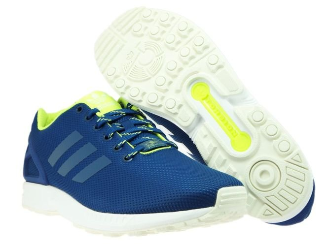 best loved b3257 5ec11 ... S79101 adidas ZX Flux BlueSolar YellowHalo ...