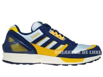 147011 Adidas Originals ZX 8000 Dawn Blue/Dark Slate/Cadmium Yellow