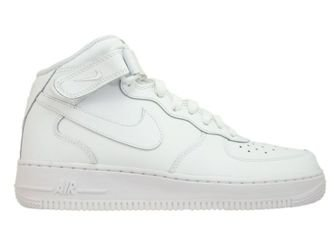 315123-111 Nike Air Force 1 MID '07 White/White