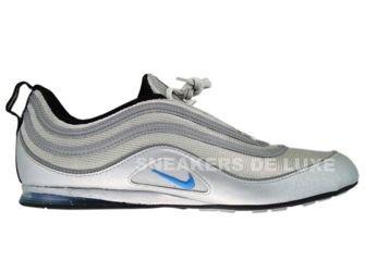 316328-041 Nike Air Plata Metallic Silver/Blue