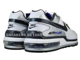 316391-123 Nike Air Max LTD II White/BlackDark Grey-Metallic Silver