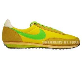 316987-730 Nike Elite Chrome Yellow/Electric Green-University