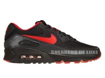 325018-069 Nike Air Max 90 Midnight Fog/University Red