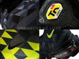 336155-071 Nike Tuned X 10 Black/Tarmac Neon Green