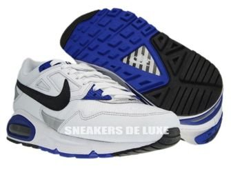 343886-130 Nike Air Max Skyline White/Black Metallic Silver Concord