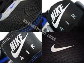 397689-023 Nike Air Max Command Black/Treasure Blue White