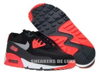 537384 006 Nike Air Max 90 Essential BlackWolf Grey Atomic