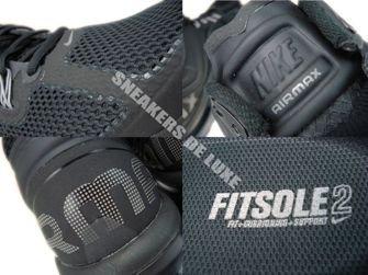554886-001 Nike Air Max+ 2013 Black/Dark Grey