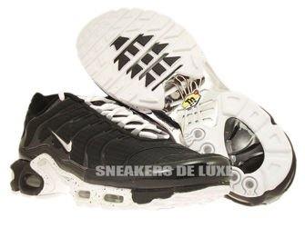 604133-091 Nike Air Max Plus TN 1 Black / Chrome-Black