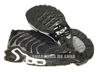 605112-039 Nike Air Max Plus TN 1 Black/Black-White